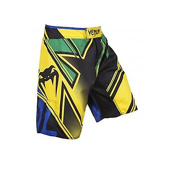 Venum Mens Wanderlei Silva baguette conflit lutte Shorts - jaune