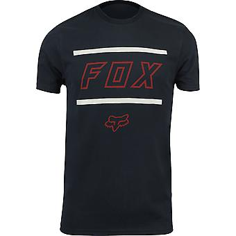 Fox Racing Mens Midway SS Airline T-Shirt - Black