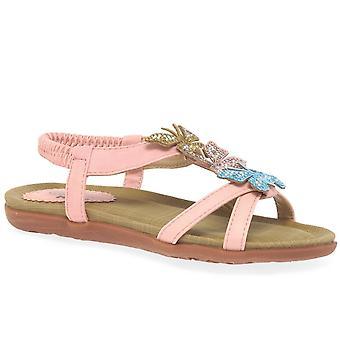 Lunar (GRS) India Girls Junior Sandals