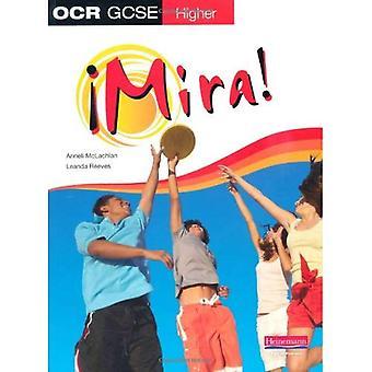 Mira OCR GCSE hiszpański wyższym Student książki