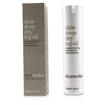 This Works Skin Deep Dry Leg Oil - 120ml/4oz