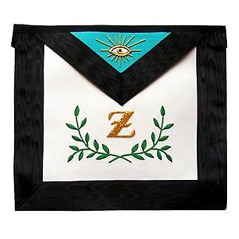Masonic Scottish Rite Masonic apron - AASR - 4th degree - Sprig of acacia