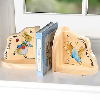 Beatrix Potter Peter Rabbit Bookends in legno