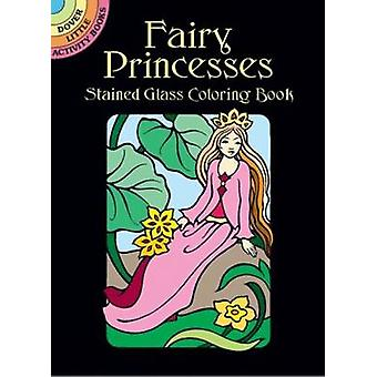 Fairy Princesses Stained Glass Coloring Book by Marty Noble - 9780486