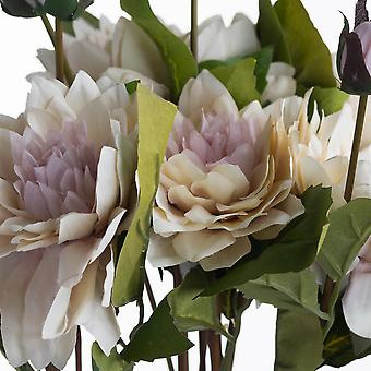 Hill Interiors Coffee Cream Dahlia