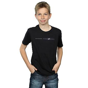 Marvel Boys Avengers Endgame Avenge The Fallen Text T-Shirt