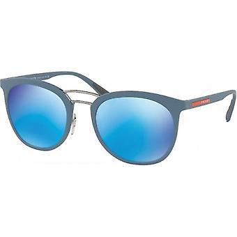 Prada SPS04S gum mirrored green blue blue