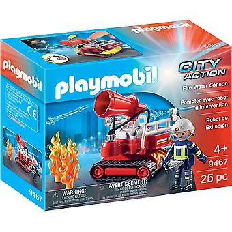 Playmobil 9467 stad actie vuur Water Cannon