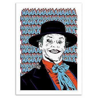 Art-Poster-u mij bellen... Joker! -Vee Laruelle 50 x 70 cm