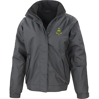Kings Own Royal Border Regiment - Licensed British Army Embroidered Waterproof Jacket With Fleece Inner
