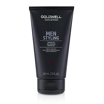 Goldwell Dual Senses Men Styling Power Gel (for All Hair Types) - 150ml/5oz