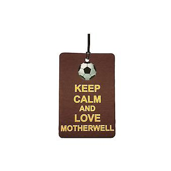 Keep Calm And Love Motherwell Car Air Freshener