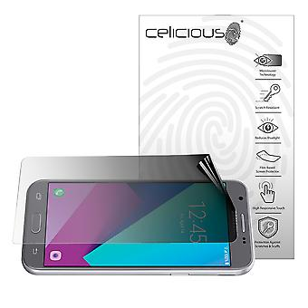 Celicious Privacy 2-Way Landscape Anti-Spy Filter Screen Protector Film Compatible with Samsung Galaxy Amp Prime 2