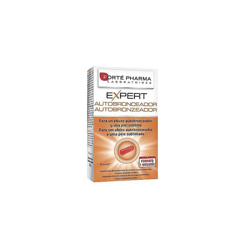 Forte Pharma Expert Self-Tanner 30 Licaps (1 Month)