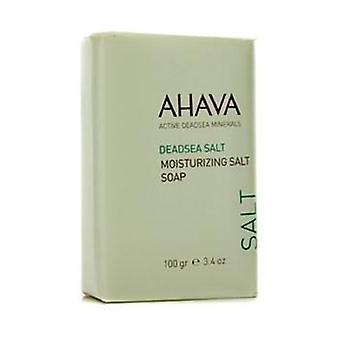 AHAVA ikoch Salz feuchtigkeitsspendende Salzseife - 100g / 3.4 oz