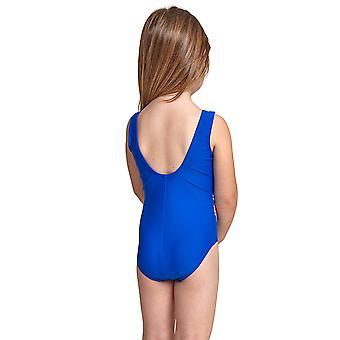 Zoggs Undersea Girl-apos;s Scoopback One Piece Swimsuit Blue / Multi Elastomax