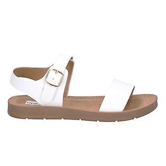 Steve Madden Probable Ladies Sandals White