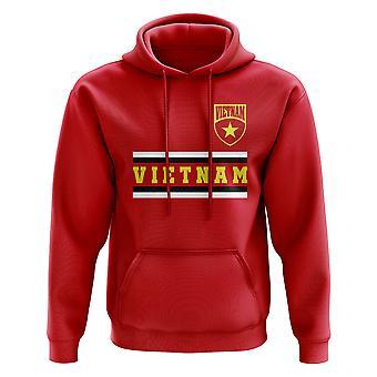 Vietnam Core Football Country Hoody (rød)