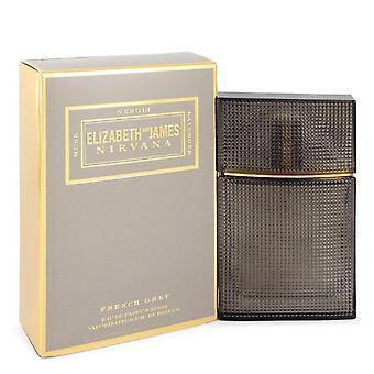 نيرفانا الفرنسية الرمادية eau دي parfum رذاذ (للجنسين) من قبل اليزابيث وجيمس 543851 50 مل