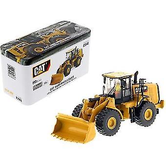 CAT Caterpillar 966M Chargeur de roues avec opérateur High Line Series 1/87 (HO) Scale Diecast Model par Diecast Masters
