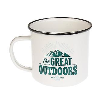 History & Heraldry Great Outdoors Tin Mug 8
