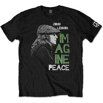 John Lennon Föreställ Peace The Beatles officiella T-shirt