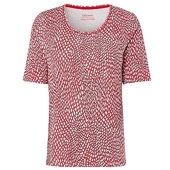 OLSEN Olsen Spicy Red T-shirt 11100797