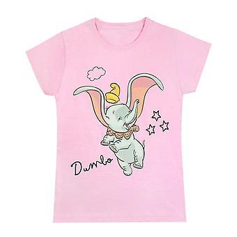 Disney Dumbo Flying Classic Girl's/Kid's T-Shirt