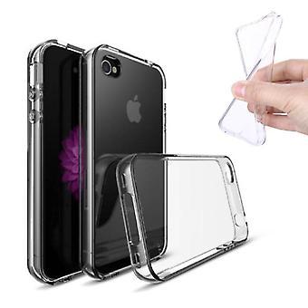 Stuff Certified® 10-pakkaus läpinäkyvä kirkas silikoni kotelo kotelo TPU-kotelo iPhone 4S