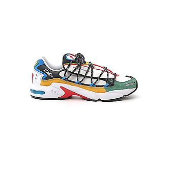 Asics 1021a282100 Men's Multicolor Leather Sneakers