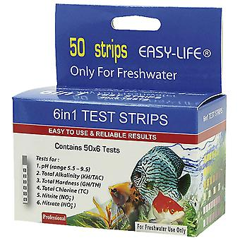 Easy-Life Test Strips 6In1:Ph,Gh,Nitrito,Nitr