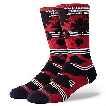Stance Inline Men's Socken - Berner Burgund