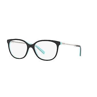Tiffany TF2168 8055 Black on Tiffany Blue Glasses
