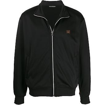 Acne Studios Ci0029900 Dames's Zwart Nylon Sweatshirt