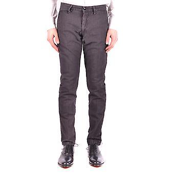 Pt01 Ezbc084061 Men's Brown Wool Pants