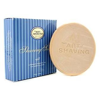 Relleno de jabón de afeitar - Aceite esencial de lavanda (para piel sensible) - 95g/3.4oz