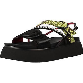 181 Origano Color Nero Sandals