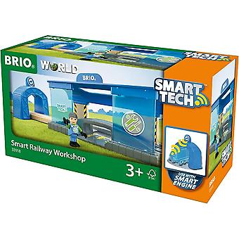 Brio 33918  Wooden Railway - Smart Tech Railway Workshop