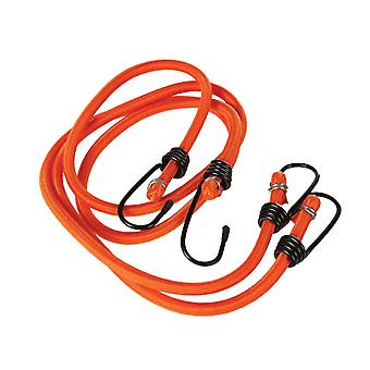 regatta bungee cords with hooks 90cm orange for camping, hikes and orienteering