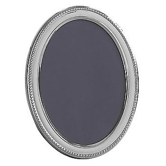 Orton West Oval Photo Frame 2.5x3.5 - Silver