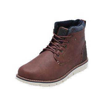 H.I.S SCHNÜRSTIEFELETTE Men's Boots Brown Lace-Up Boots Winter