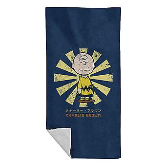 Charlie Brown Peanuts Retro Japanese Beach Towel