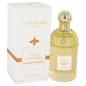 Aqua Allegoria Mandarine Basilic Eau De Toilette Spray By Guerlain 4.2 oz Eau De Toilette Spray