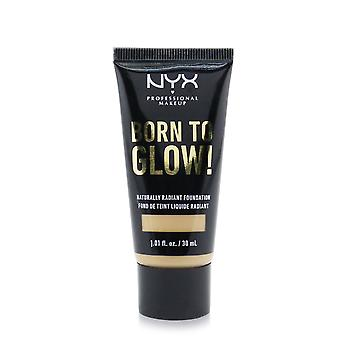 Born to glow! naturally radiant foundation # medium olive 248207 30ml/1.01oz