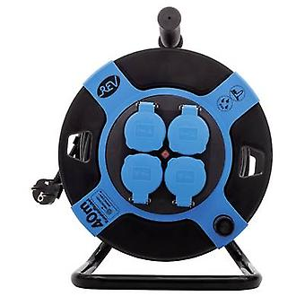 REV 0010117812 Cable reel 40.00 m Black PG plug