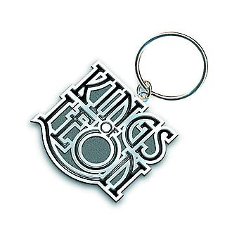 Kings Of Leon Keyring Keychain Scroll band Logo new Official metal