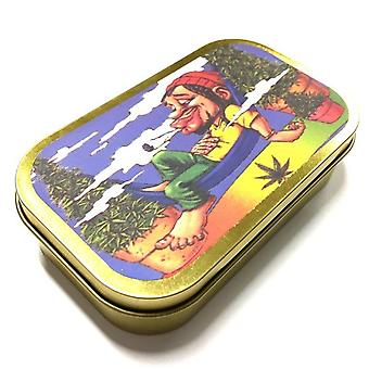 Tobacco case with ganjaman