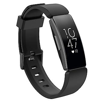 Replacement Wristband Strap Bracelet Band for Fitbit Inspire/Inspire HR/ACE 2[Black,Large]