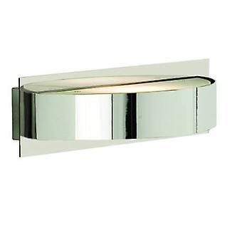 1 Light Indoor Wall Light Chrome mit GlasDiffuser
