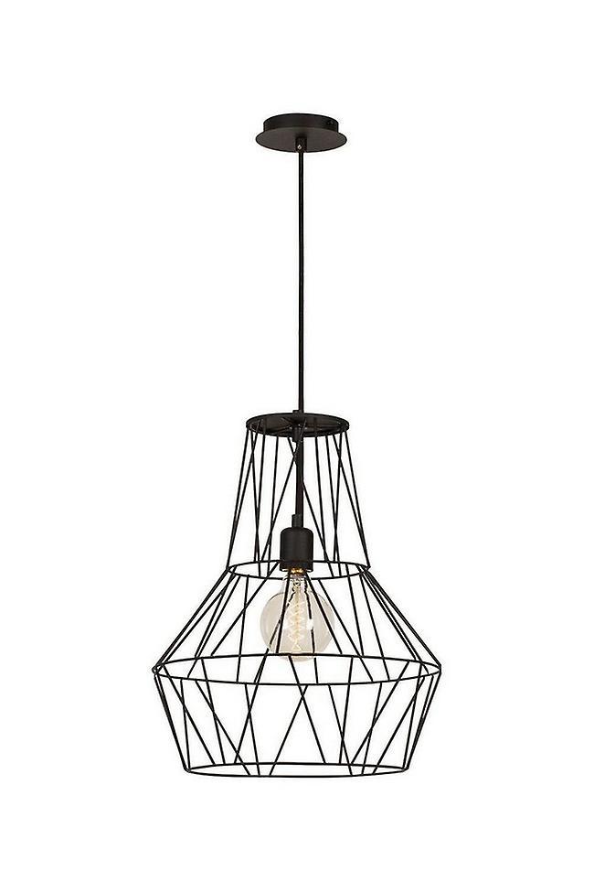 Lampada a Sospensione Cagex Colore Nero in Metallo, Vernice, L37xP37xA137 cm